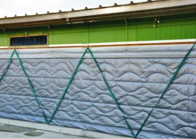 insulated curtain wallside 1